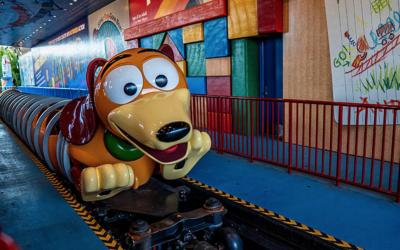 Riding Slinky Dog Dash!